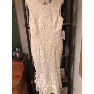 Anthropologie Midi Dress - bridal